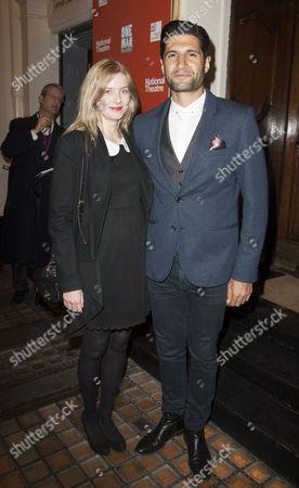 Rachel Hurd-Wood and Kayvan Novak