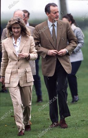 , Lord Brabourne and Lady Brabourne attend the Royal Windsor Horse Show 2000.