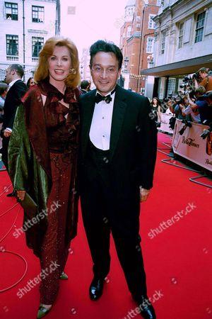 STEFANIE POWERS AND TOMASZ STARZEWSKI AT THE BAFTA'S 2000.