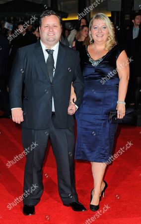 Stock Photo of Julie-Ann Potts and Paul Potts