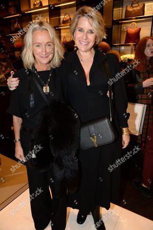Tara Agace (L) and Fiona Golfar