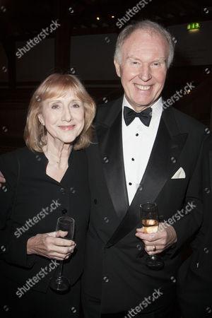 Pamela Miles and Tim Pigott-Smith