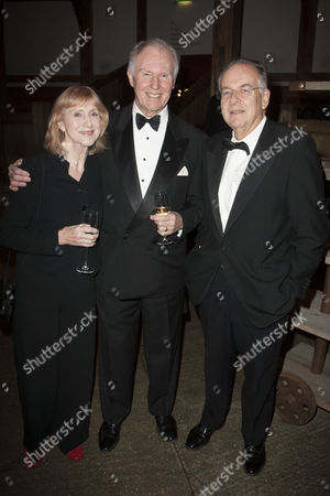 Pamela Miles, Tim Pigott-Smith and Lord Faulkner