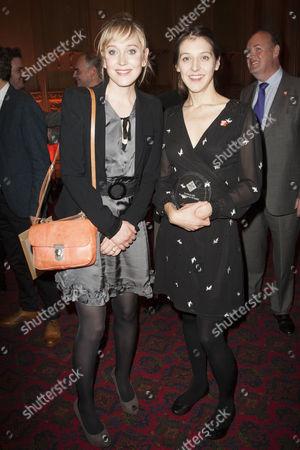 Hattie Morahan and Blanche McIntyre