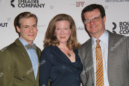 Stock Picture of Zachary Booth, Henny Russell and Michael Cumpsty