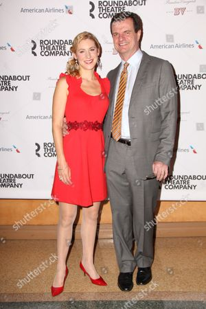 Stock Photo of Charlotte Parry and Michael Cumpsty