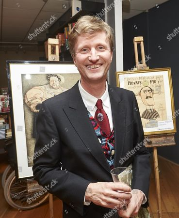 Editorial picture of The 19th Cartoon Art Trust Awards, Mall Galleries, London, Britain - 17 Oct 2013