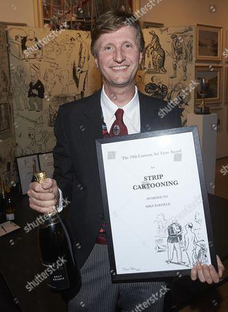 Editorial photo of The 19th Cartoon Art Trust Awards, Mall Galleries, London, Britain - 17 Oct 2013