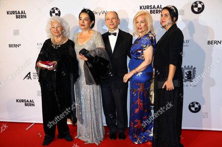 Editorial photo of Gala de Berne, Kursaal, Berne, Switzerland - 17 Oct 2013