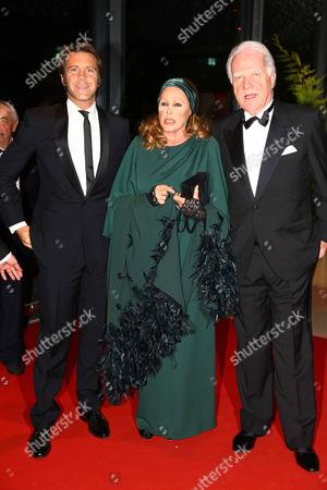 Emanuele Filiberto von Savoyen, Ursula Andress and guest