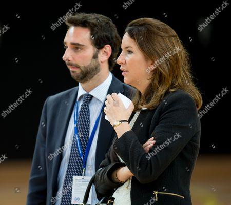 Nick Loughran, Deputy Press Secretary to Duke and Catherine Duchess of Cambridge and Rebecca Deacon, Private Secretary to Catherine Duchess of Cambridge