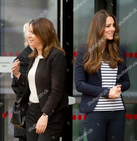 Rebecca Deacon, Private Secretary to Catherine Duchess of Cambridge and Catherine Duchess of Cambridge
