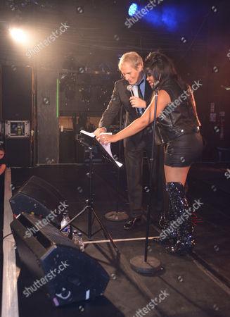Michael Bolton and Lorna Simpson