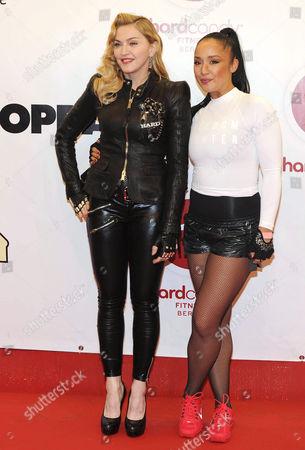 Madonna and Nicole Winhoffer