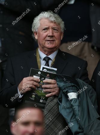 Newcastle United Director of Football Joe Kinnear watches from the stands