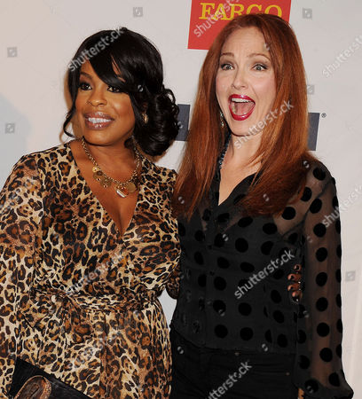 Niecy Nash and Amy Yasbeck