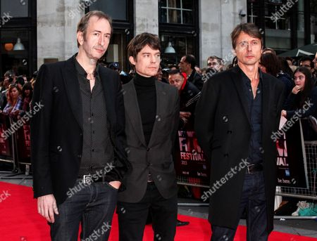 Suede - Mat Osman, Neil Codling and Brett Anderson