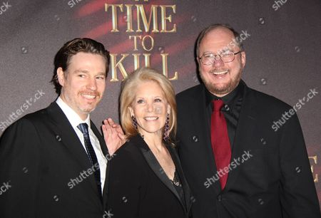 Ethan McSweeny, Daryl Roth and Rupert Holmes