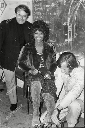 Actor Jack Smethurst And Actress Nina Baden Semper With Ray Allen.