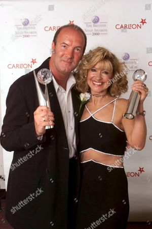 DEAN SULLIVAN AND SUE JENKINS AT THE BRITISH SOAP AWARDS 2000 FROM THE BBC TELEVISION CENTRE.