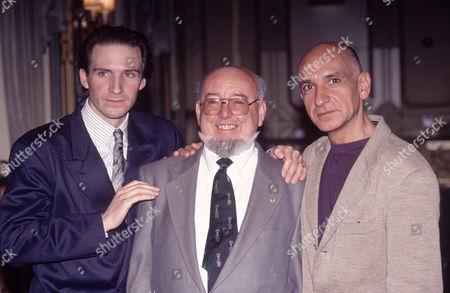Ralph Fiennes, Thomas Keneally and Sir Ben Kingsley