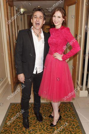 Tom Stade and Sophie Ellis-Bextor