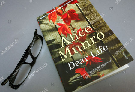 Stock Picture of Canadian writer Alice Munro wins 2013 Nobel Prize for Literature
