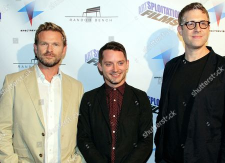 Josh C.Waller, Elijah Wood and Daniel Noah