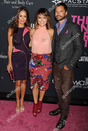 Brooke Burke Charvet, Elyse Walker and David Charvet
