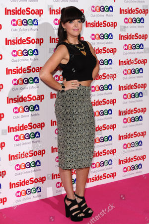 Editorial photo of Inside Soap Awards, London, Britain - 21 Oct 2013