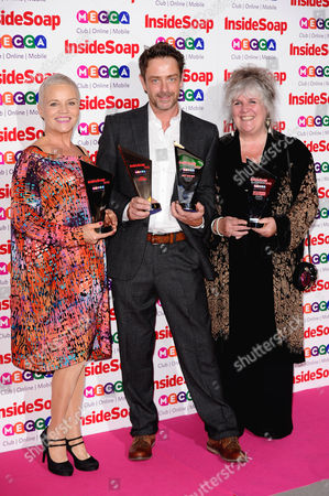 Editorial picture of Inside Soap Awards, London, Britain - 21 Oct 2013