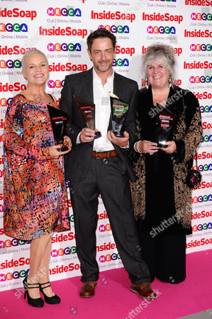 Stock Photo of Lesley Dunlop, Dominic Power and Jane Cox