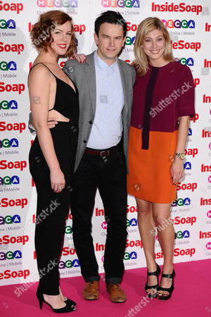 Niamh McGrady, Rob Ostlere and Lauren Drummond