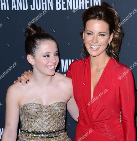 Lily Mo Sheen and Kate Beckinsale