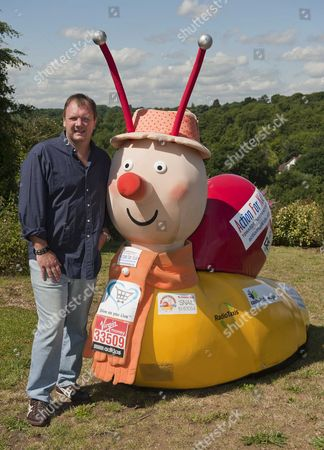 Lloyd Scott Who Ran The 2011 London Marathon Dressed As 'brian The Snail'' To Raise Money For Charity 'action For Kids'. He Was Later Sacked By The Charity For Failing To Raise Enough Money And Incurring Expenses.