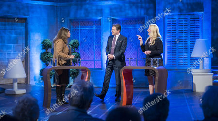 Lorrine Marer, Alan Titchmarsh and Sonia Poulton