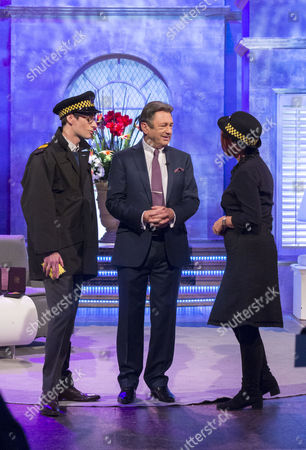 Kevin Poulter and Fiona Foster with Alan Titchmarsh