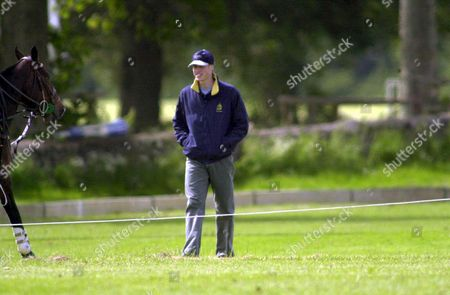 Prince William pictured at polo at the Beaufort polo club .