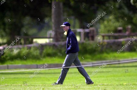 Prince William pictured at polo at the Beaufort polo club