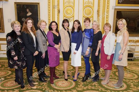 Heather McGregor, Livia Giuggioli, Athene Donald, Bettany Hughes, Carolyn McCall, Miriam Gonzalez Durantez, Fiona Bruce, Carrie Longton, Barbara Stocking and Thea Green
