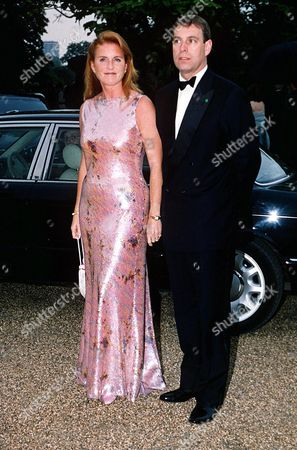 Stock Photo of THE DUKE AND DUCHESS OF YORK AT THE SERPENTINE GALLERY'S 30TH BIRTHDAY, 2000