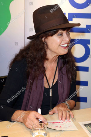 Editorial picture of Uschi Obermaier 'Expect Nothing' book signing, Hamburg, Germany - 16 Oct 2013