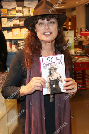 Editorial photo of Uschi Obermaier 'Expect Nothing' book signing, Hamburg, Germany - 16 Oct 2013