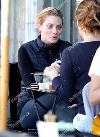 Editorial picture of April Bowlby at Joan's on Third, Los Angeles, America - 21 Oct 2013