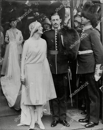 Lord And Lady Windlesham (james Hennessy 2nd Baron And Angela Duggan) Pictured At Their Wedding.
