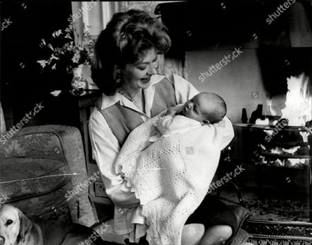 Moira Shearer Lady Kennedy (17 January 1926 Oo 31 January 2006) Was An Internationally Renowned British Ballet Dancer And Actress Pictured With Her Two Week Old Son Alastair.