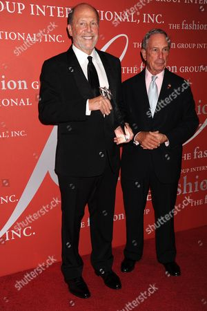 Lew Frankfort, Mayor Michael Bloomberg