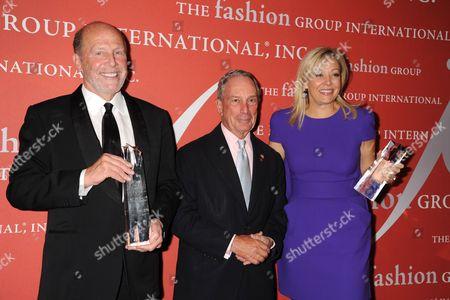 Lew Frankfort, Mayor Michael Bloomberg, Nadja Swarovski