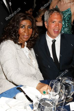 Aretha Franklin and Robert Duffy