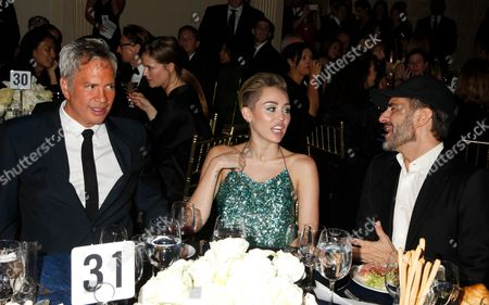Robert Duffy, Miley Cyrus and Marc Jacobs